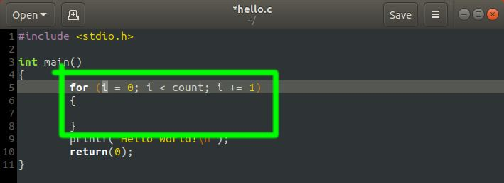 gedit for c c++ programmer