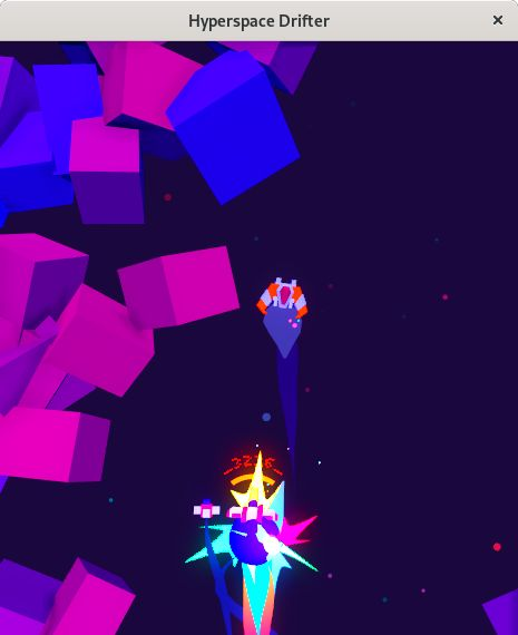 hyperspace drifter linux game