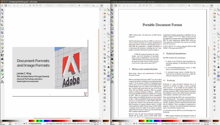 inkscape linux pdf editor