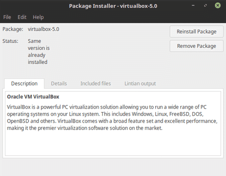 install virtualbox in linux mint 18