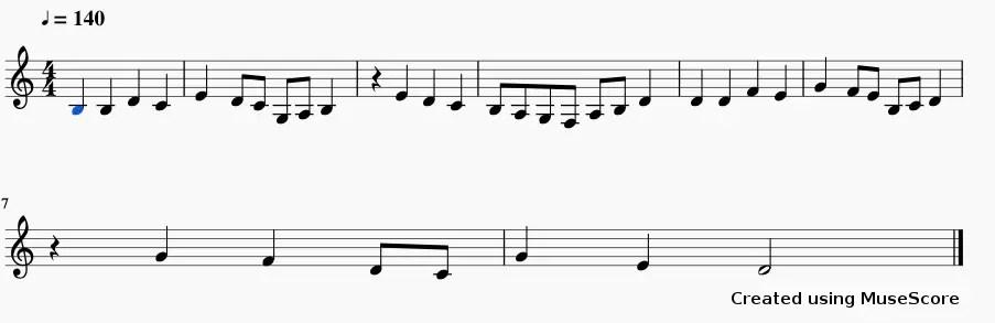 lmms sheet music