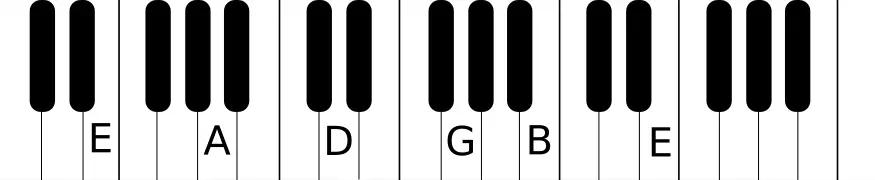 piano layout