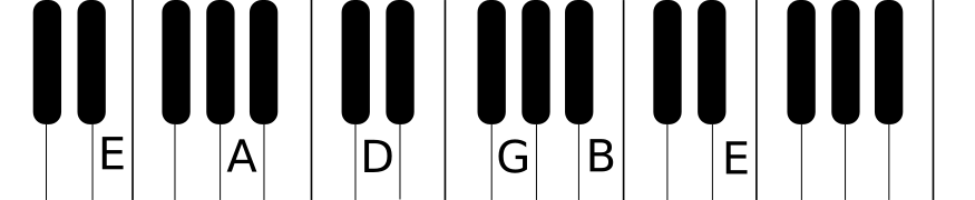 piano layout