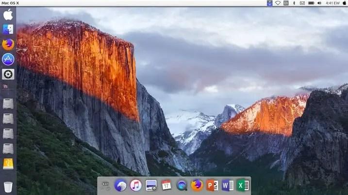 replace ubuntu logo with apple logo