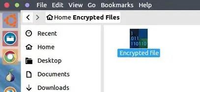 truecrypt volume file saved