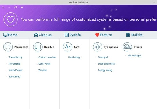 youker personalize system