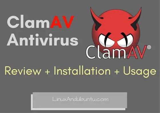 ClamAV Antivirus for linux