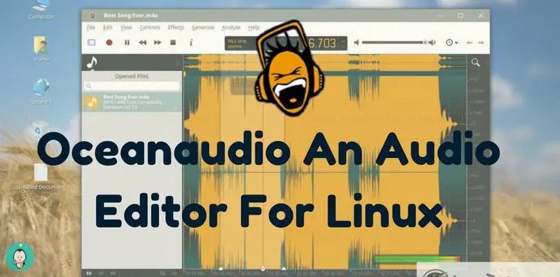 Oceanaudio An Audio Editor For Linux