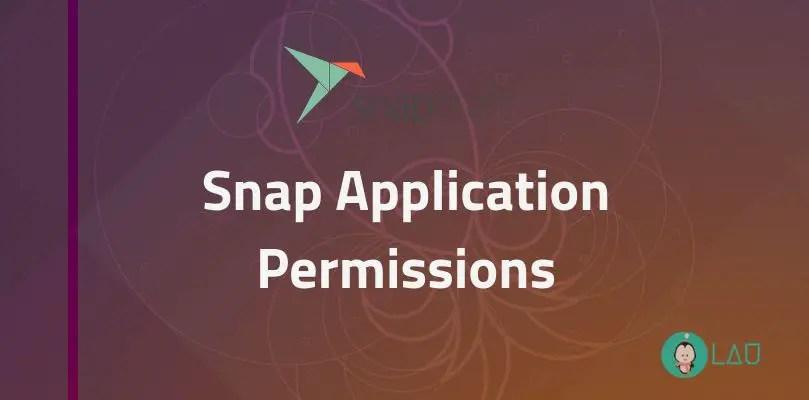 Snap Application Permissions