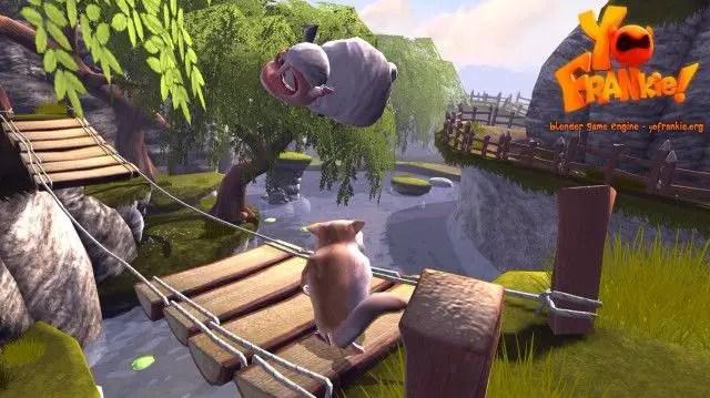 blender 3d foss Game Creation