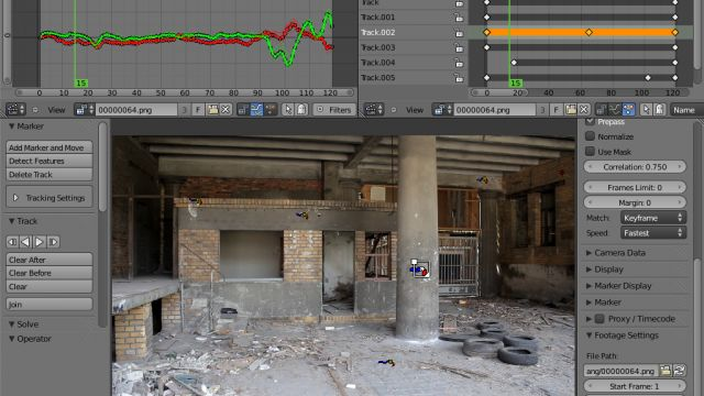 blender Camera and Object tracking