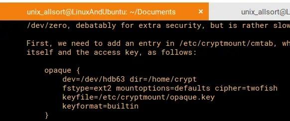 cryptmount template