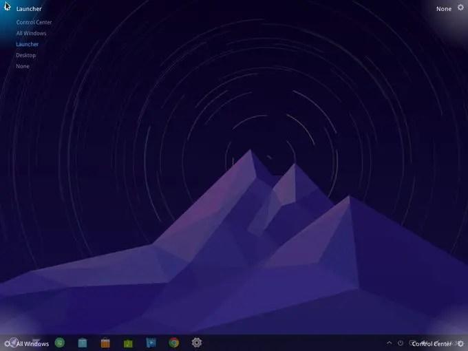 deepin os dde desktop environment