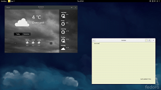 fedora 21 weather indicator