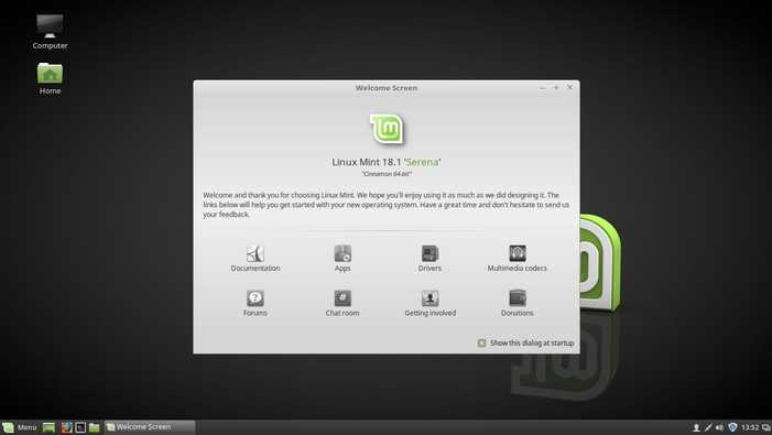 getting started with linux mint 18.1
