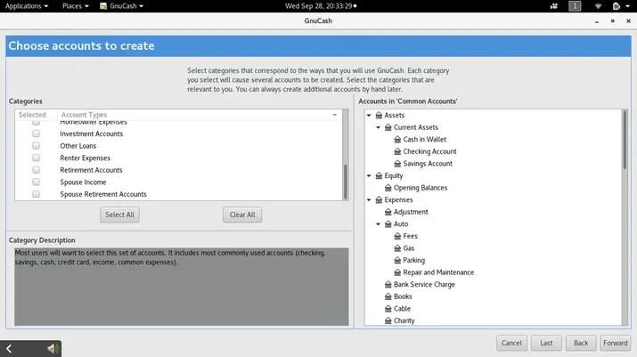 gnucash open source accounting software