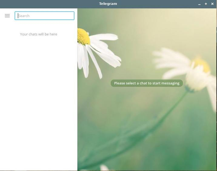 install and use telegram in linux