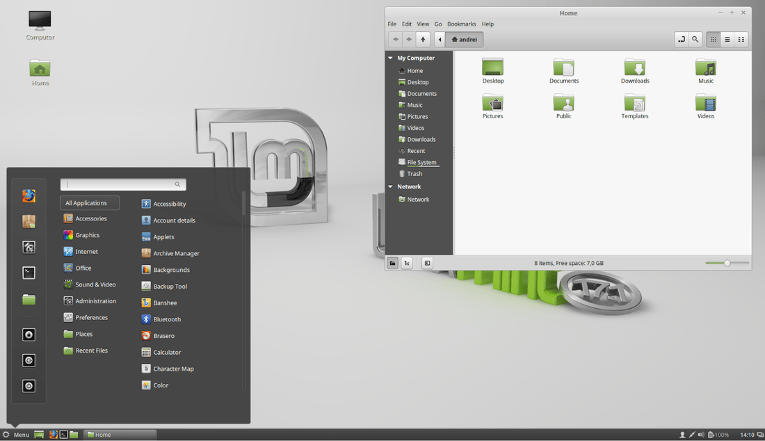 linux mint 17.1 cinnamon edition