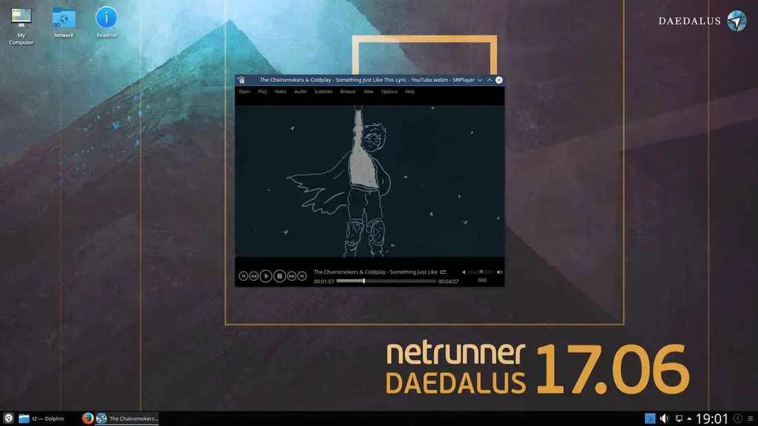 netrunner linux distribution