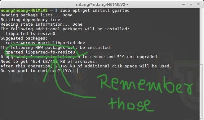 save software .deb files from terminal
