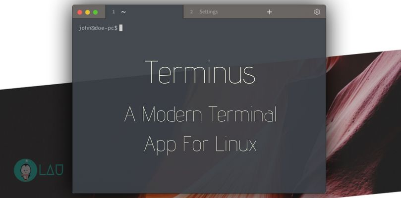 terminus modern terminal app for linux
