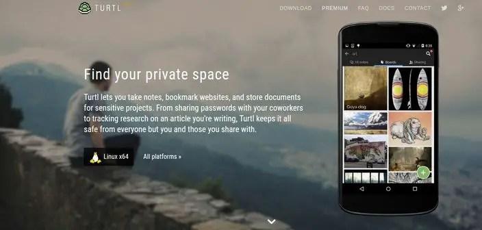 turtl privacy focused Evernote alternative