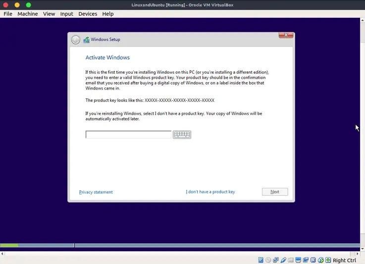 windows 10 type windows activation key