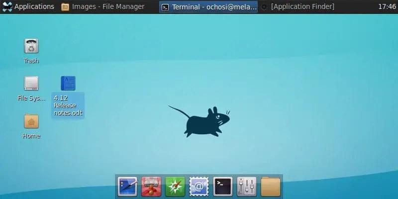 antix mapis xfce desktop environment
