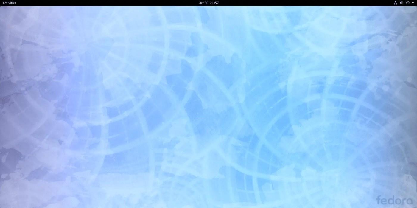 fedora desktop