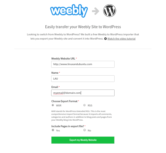 weeblytowp migrate weebly to wordpress