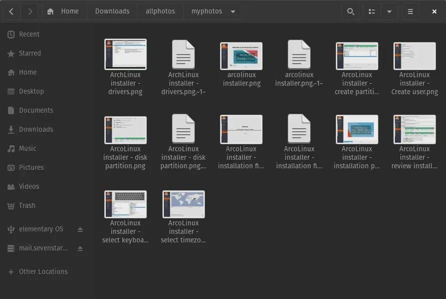 Backup files versioning