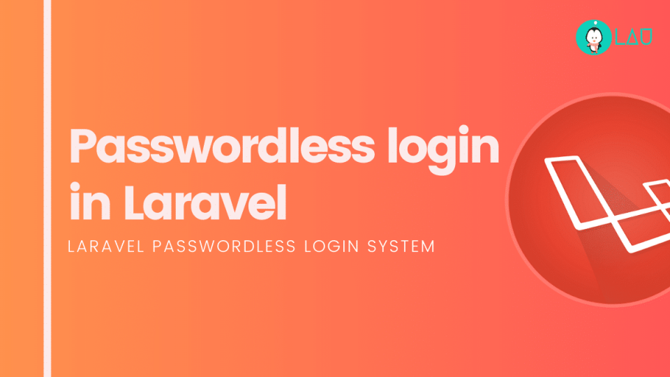 Passwordless login in laravel