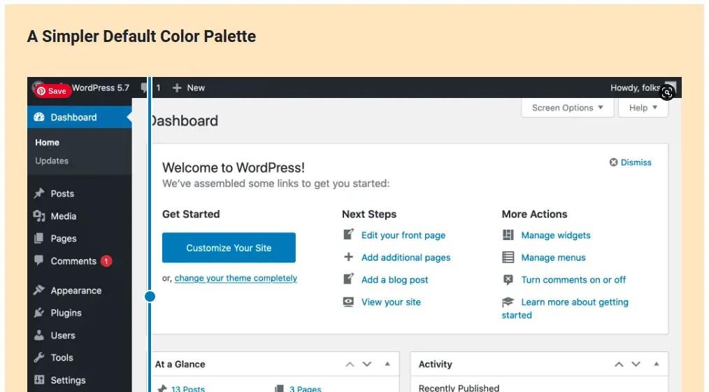 Darker Color Palette