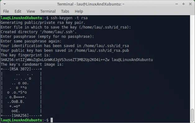 Secure Linux Server - Generate SSH Key