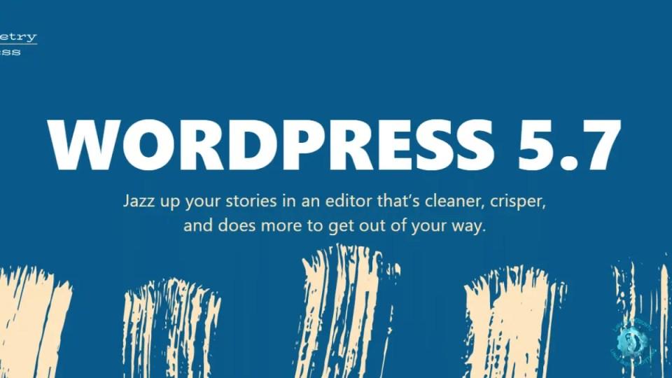 WordPress . released