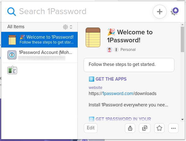 Password chrome extension