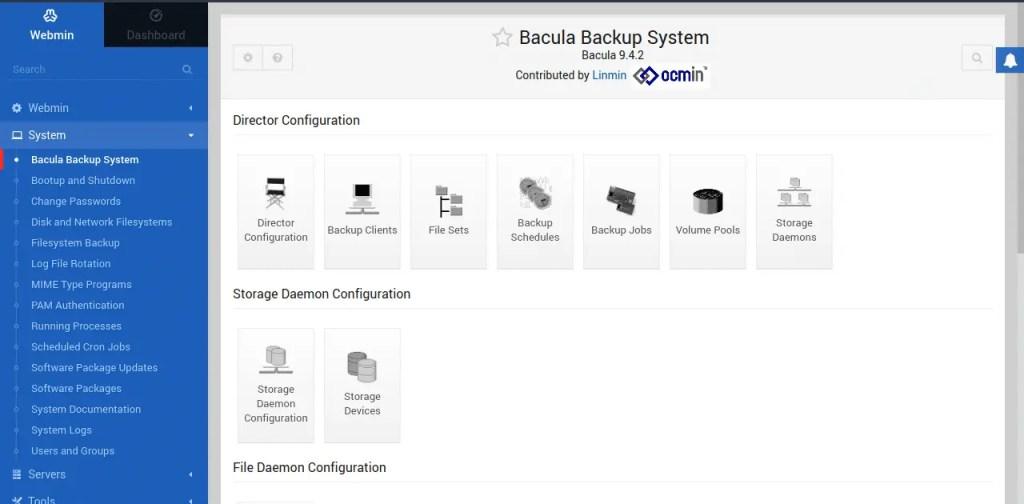 Bacula Backup System