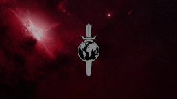 Terran Empire Logo in a Nebula