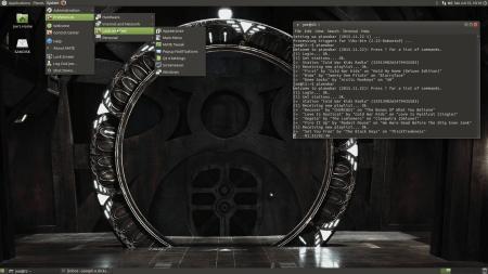 Stargate Universe Desktop on Ubuntu Mate 16.04