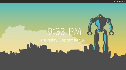 POP!_OS Lock Screen
