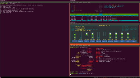 Tiled GNOME terminals in i3
