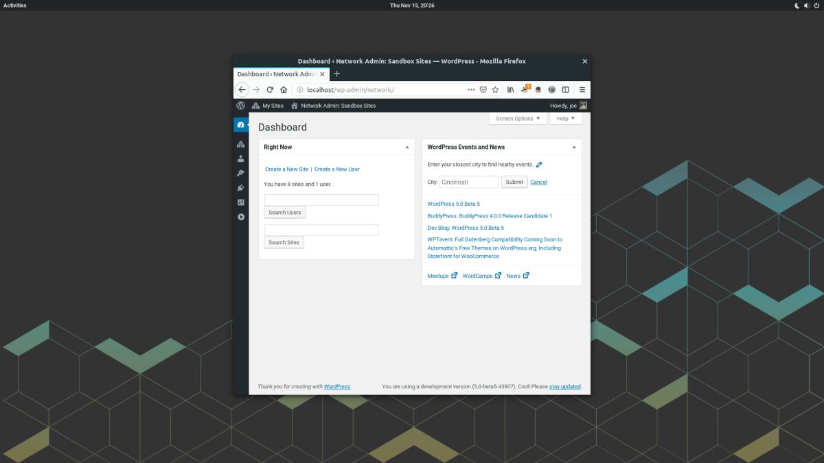 WordPress 5 Beta 5