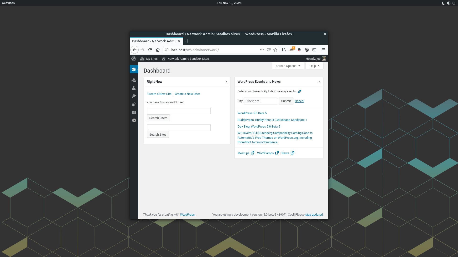 WordPress 5 Beta 5