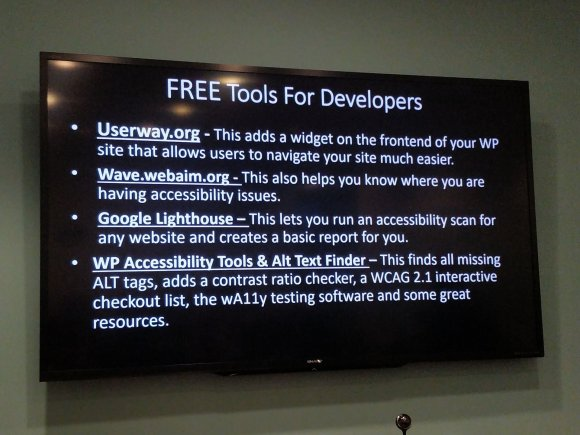 Free Tools for for web developers slide