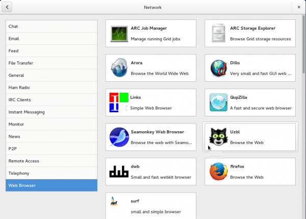 GNOME Software Web apps Fedora 20 GNOME Shell GNOME 3