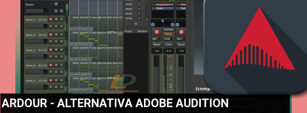 Ardour-Alternativa-ADOBE-AUDITION