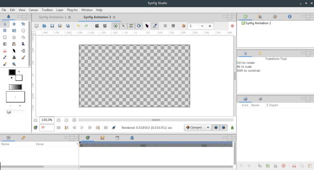 LinuxForum.hu 2D animáció Linux alatt - Synfig synfig animáció alternatív Adobe Animate