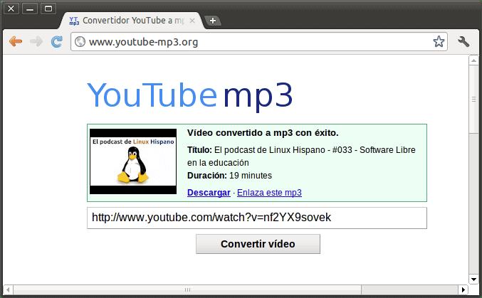 convertidor de video a mp3