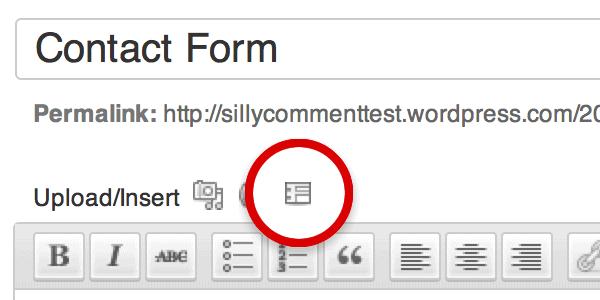 Botón formulario de contacto