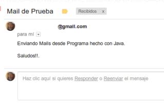 Enviar Mails con Java 2
